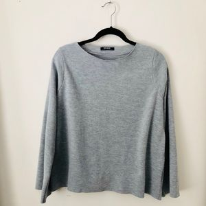 ZARA Trafaluc Grey Sweater.